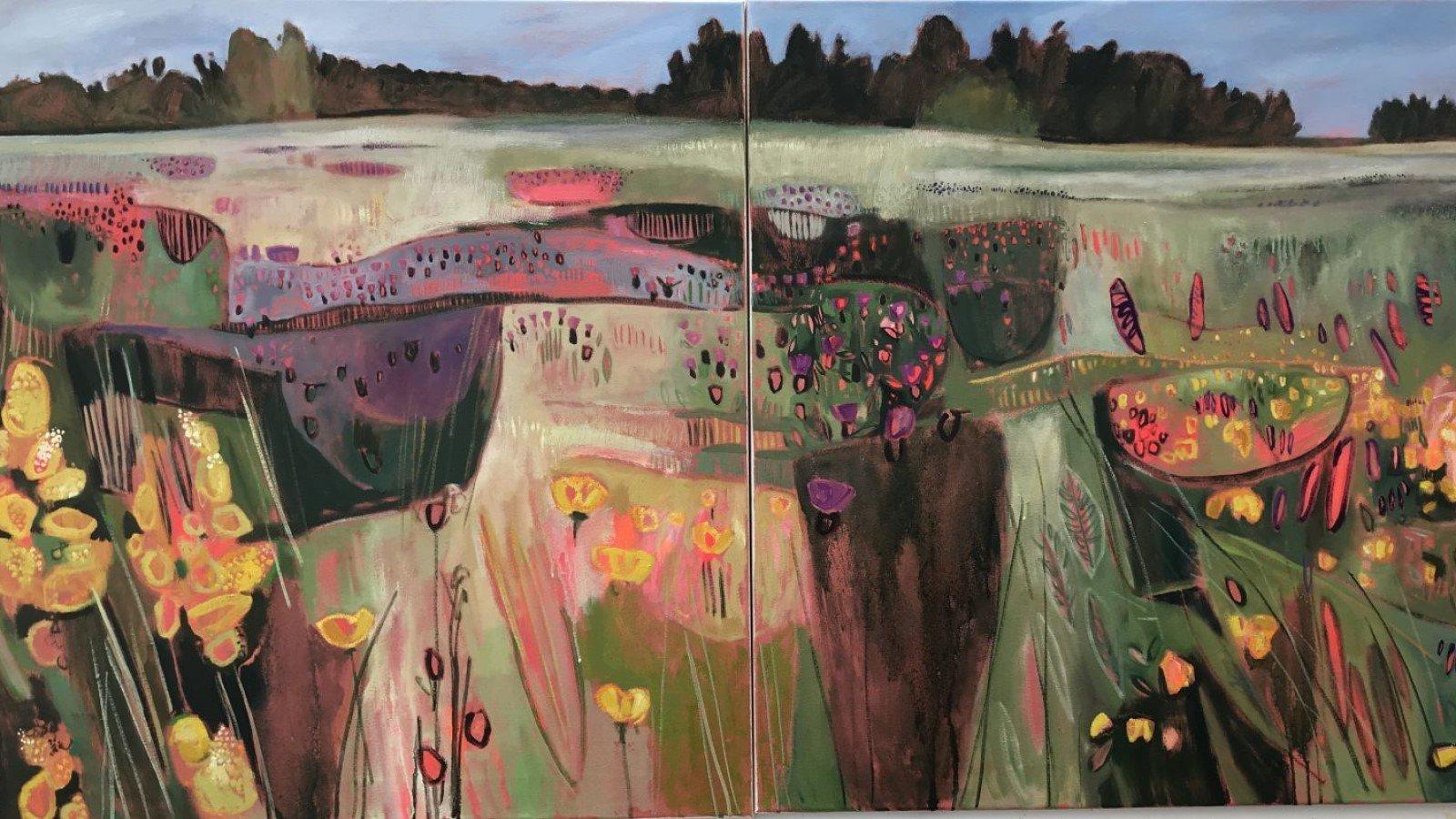 Elaine Kazimierczuk: Re-Fresh at The North Wall Gallery