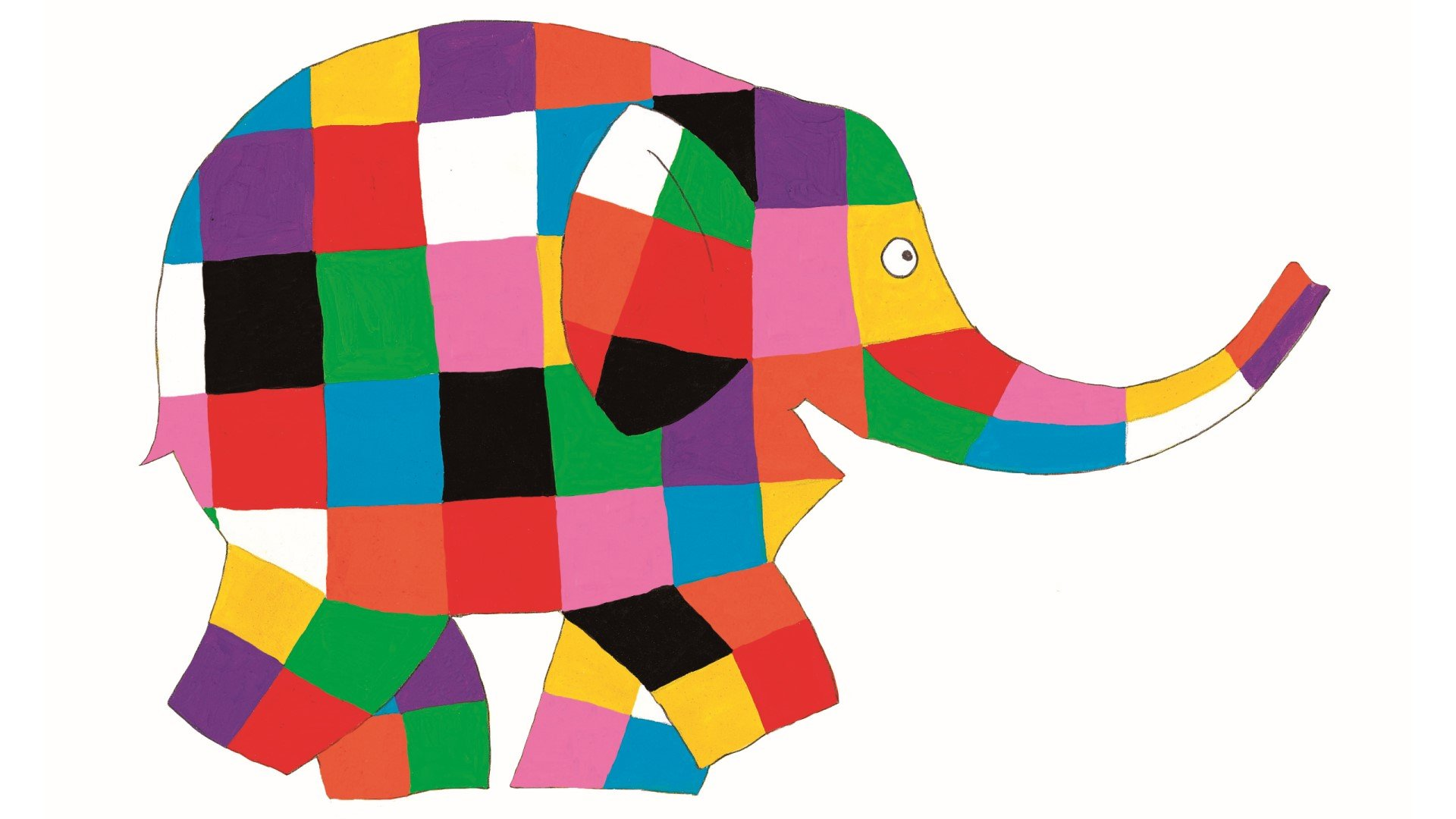Elmer and Friends: The Colourful World of David McKee at River & Rowing Museum, Henley-on-Thames