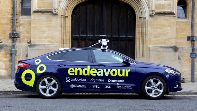 The UK's first multi-city autonomous vehicle demonstration begins in Oxford