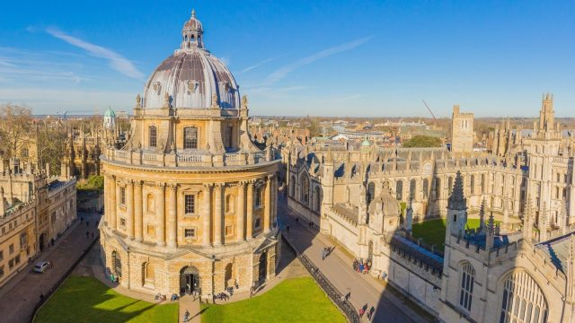 Final draft proposals published for Oxford Zero Emission Zone. Image: Radcliffe Camera in Oxford