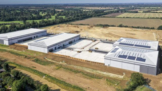 First phase at Axis J9 industrial and warehousing units in Bicester now ready for occupation