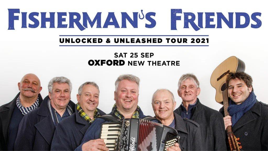 Fisherman's Friends at New Theatre Oxford