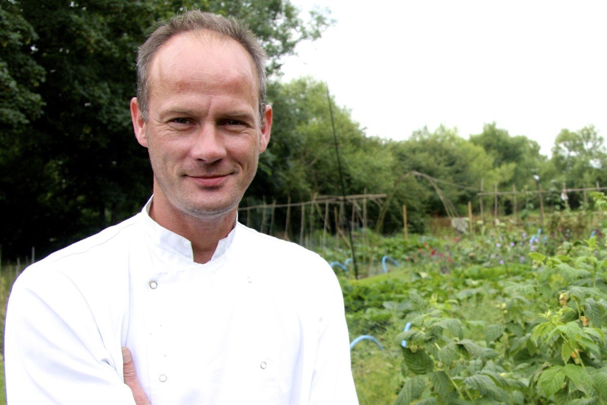 Foodies Festival Oxford - Chef Mike North of Nut Tree Inn in Murcott, Oxfordshire