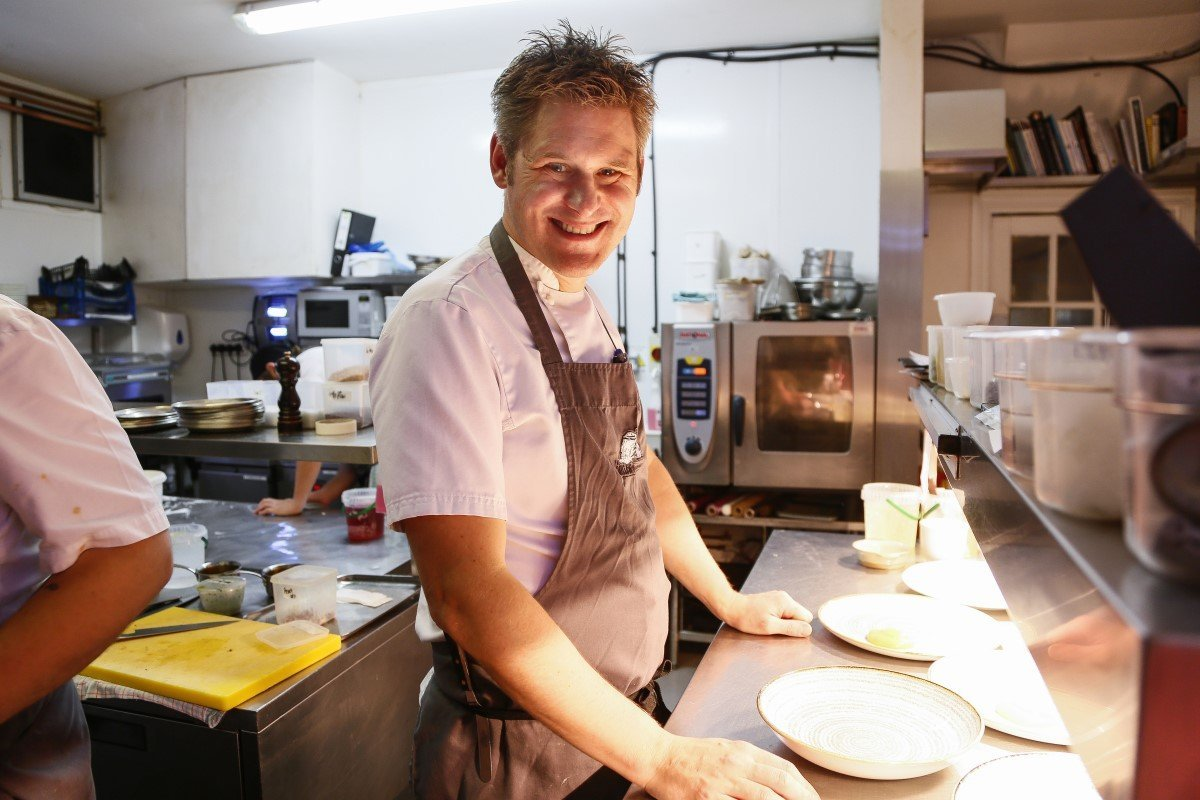 Foodies Festival Oxford - Chef Nick Galer from The Miller of Mansfield, Oxfordshire