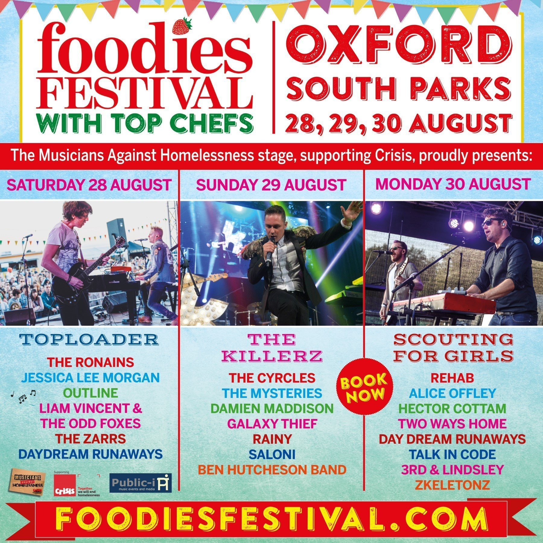 Foodies Festival Oxford 2021 Poster
