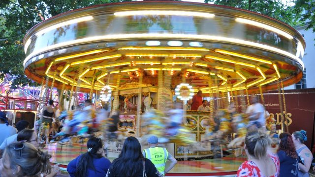 Funfairs in Oxford and across Oxfordshire