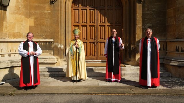 Gavin Collins consecrated as Bishop of Dorchester