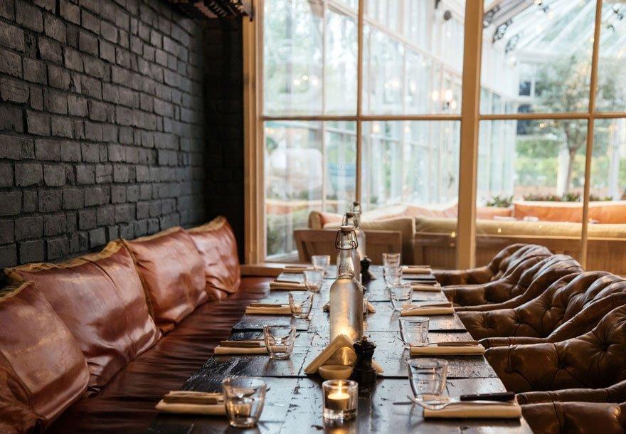 Gee's Restaurant & Bar, Banbury Road, Oxford - Interior