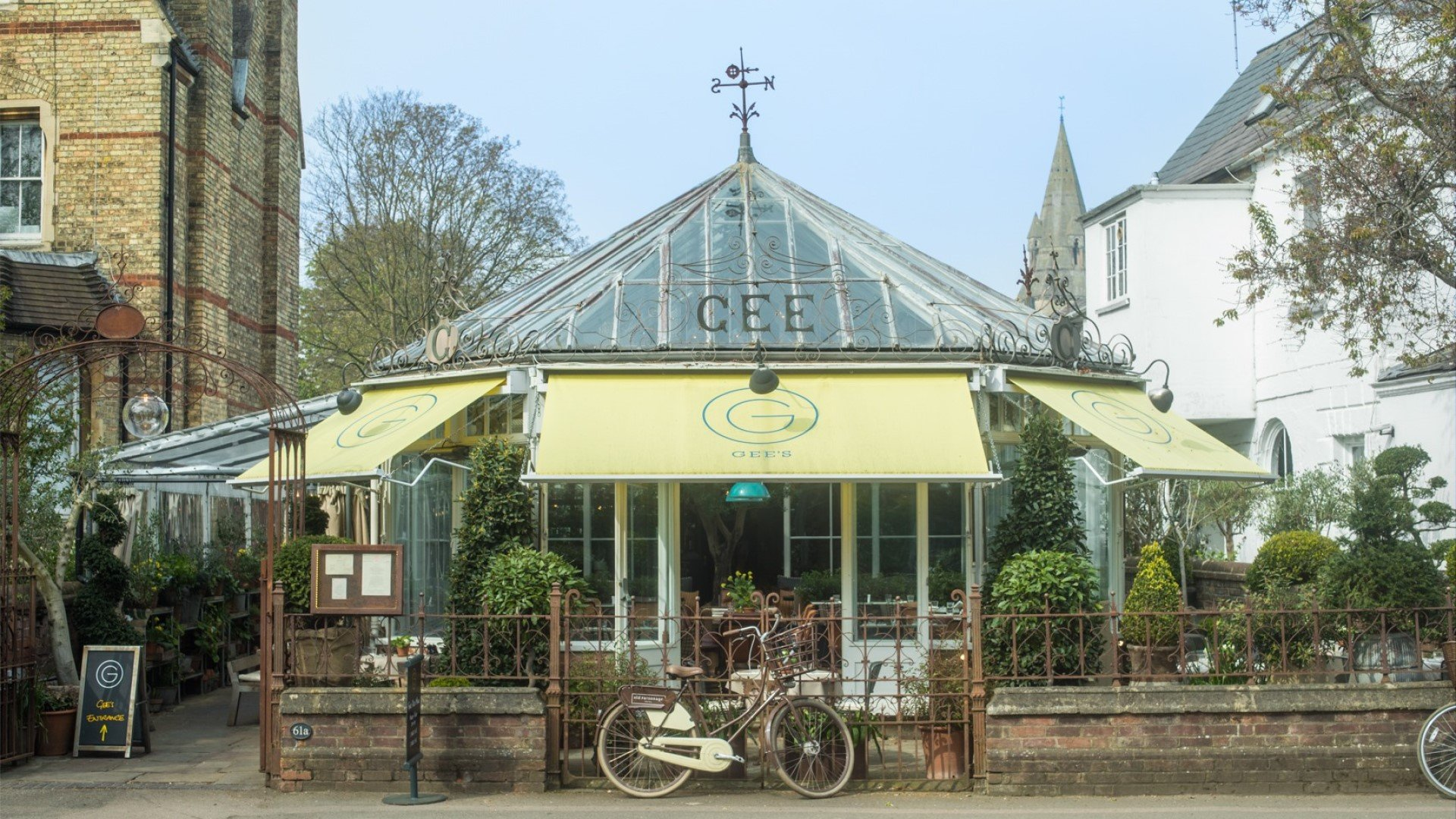 Gee's Restaurant & Bar, Banbury Road, Oxford
