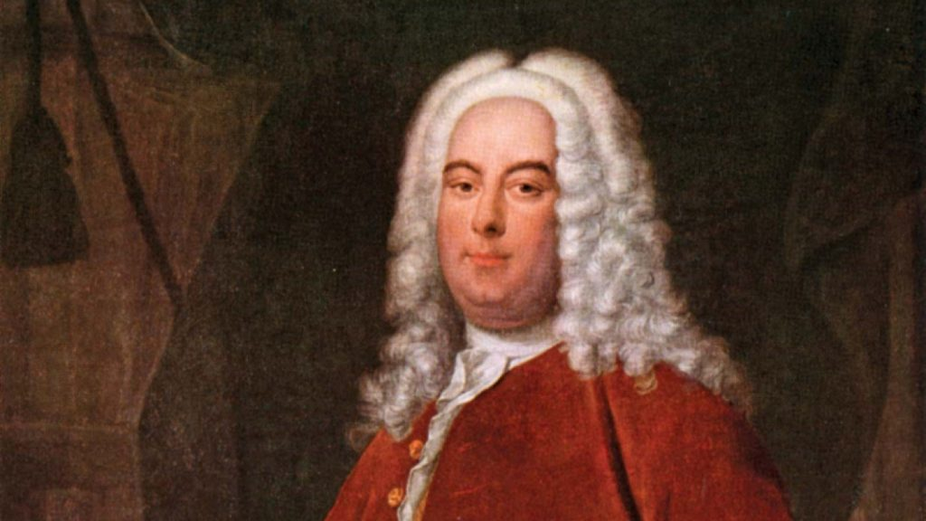 Handel Messiah at SJE Arts. Image: George Frideric Handel, oil on canvas by Thomas Hudson, c. 1736; in the Foundling Museum, London. Ann Ronan Picture Library/Heritage-Images