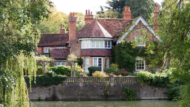 George Michael's former home in Goring-on-Thames Oxfordshire
