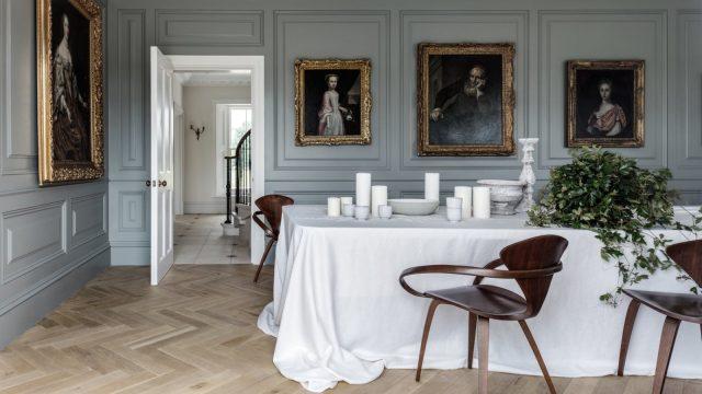 Georgian Manor House Oxfordshire Interior Design Image