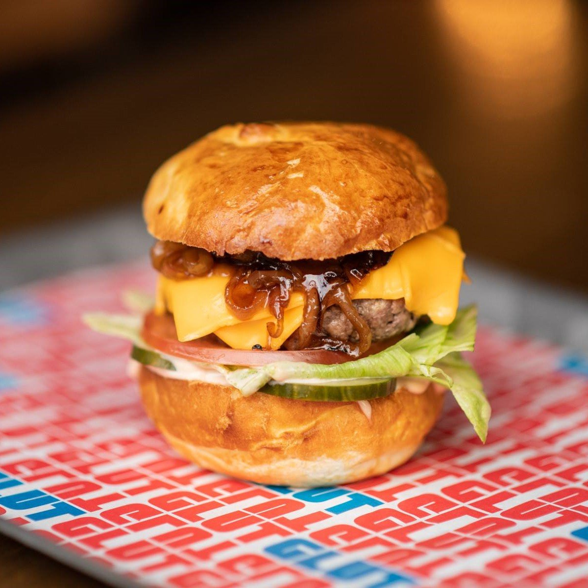 Dirty Cheese Burger from Glut Oxford