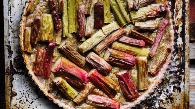 Rhubarb Tart Recipe from The Great Dixter Cookbook