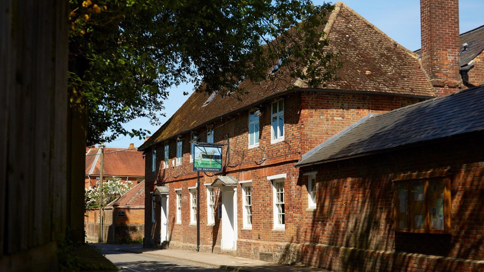 Greyhound Inn, Letcombe Regis, Wantage, Oxfordshire