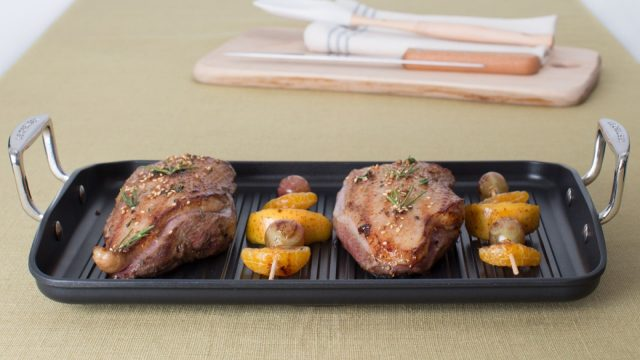 Grilled Marinated Duck Breast with Honey Recipe