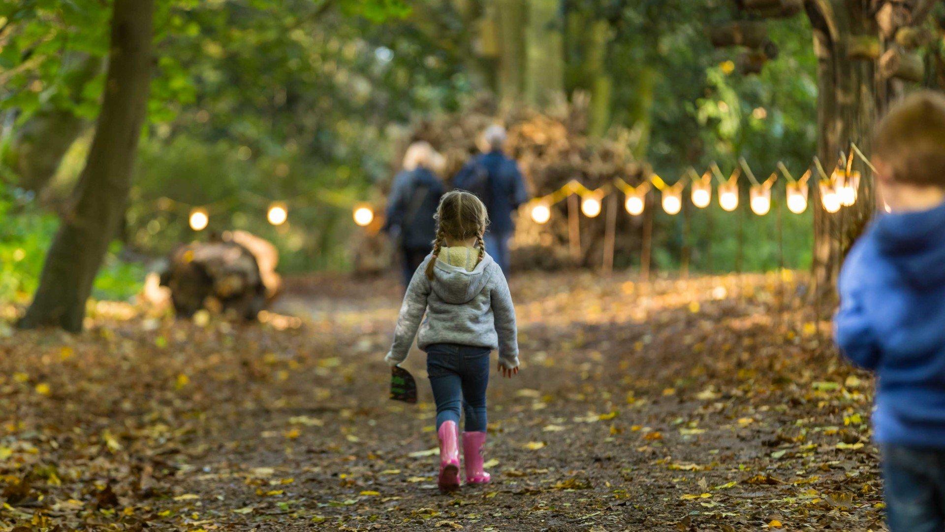 Halloween Trail at Waddesdon Manor - Miss Alices Walk
