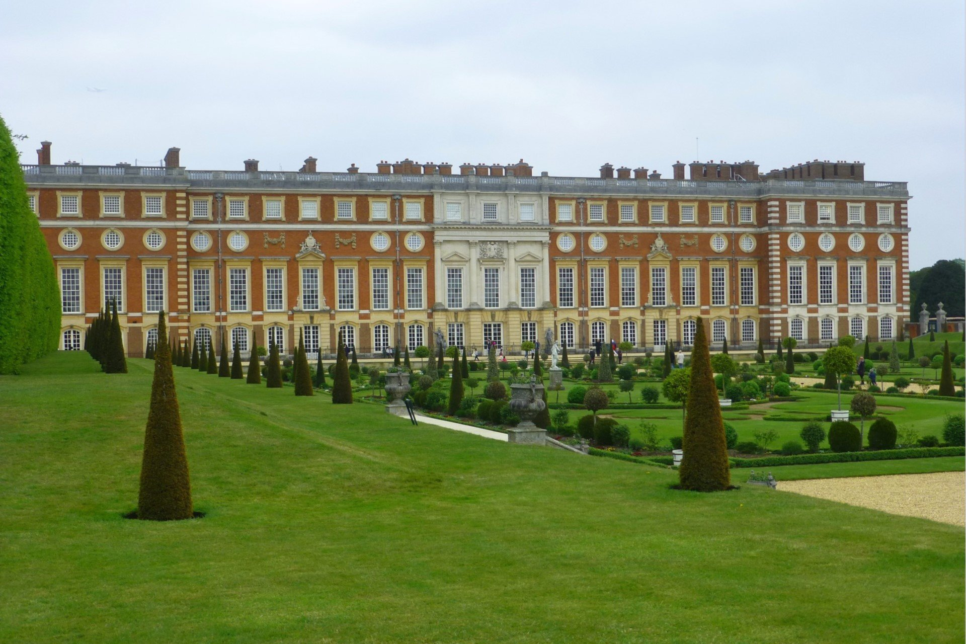 Exterior of Hampton Palace