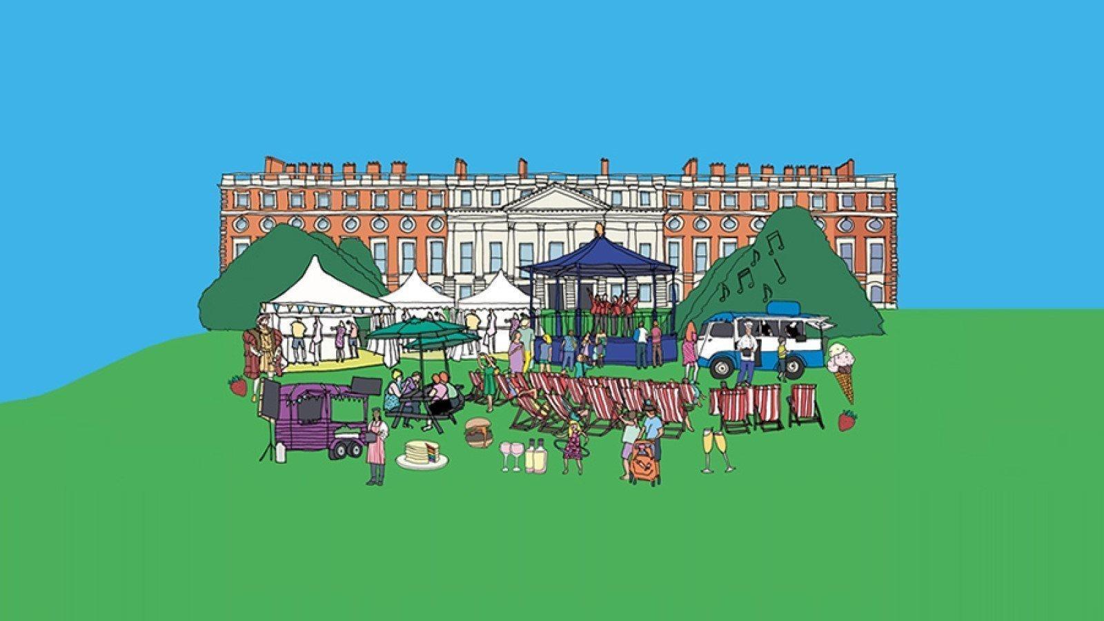 Hampton Court Palace Food Festival 2019