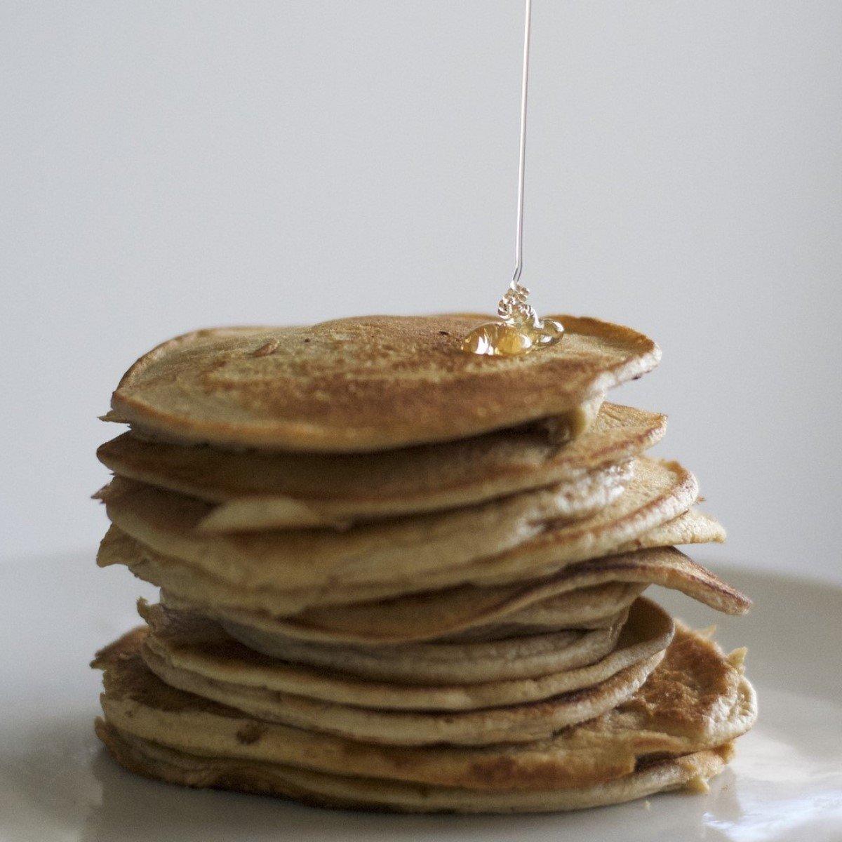 Healthy Oat Pancakes Recipe