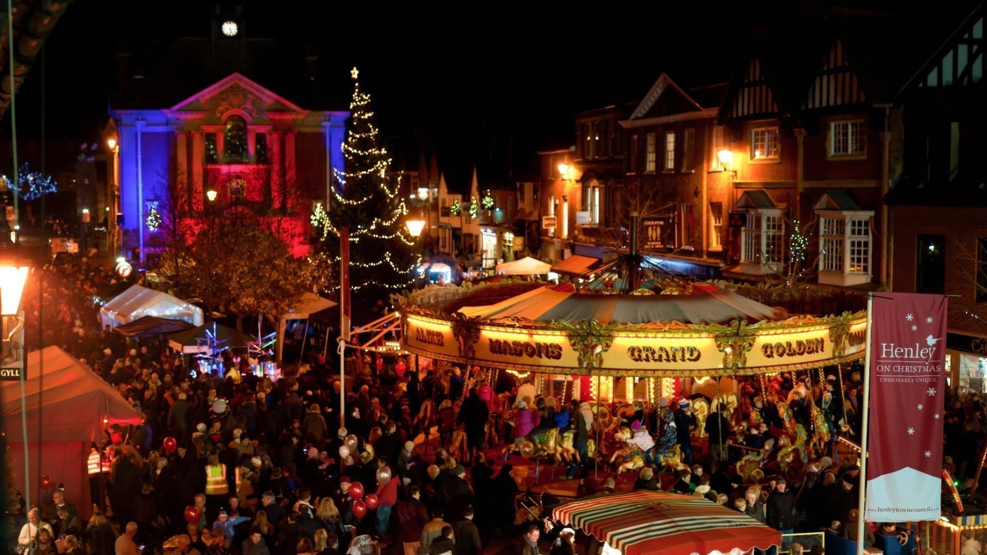 Henley Christmas Festival 2019 in Henley-on-Thames, Oxfordshire