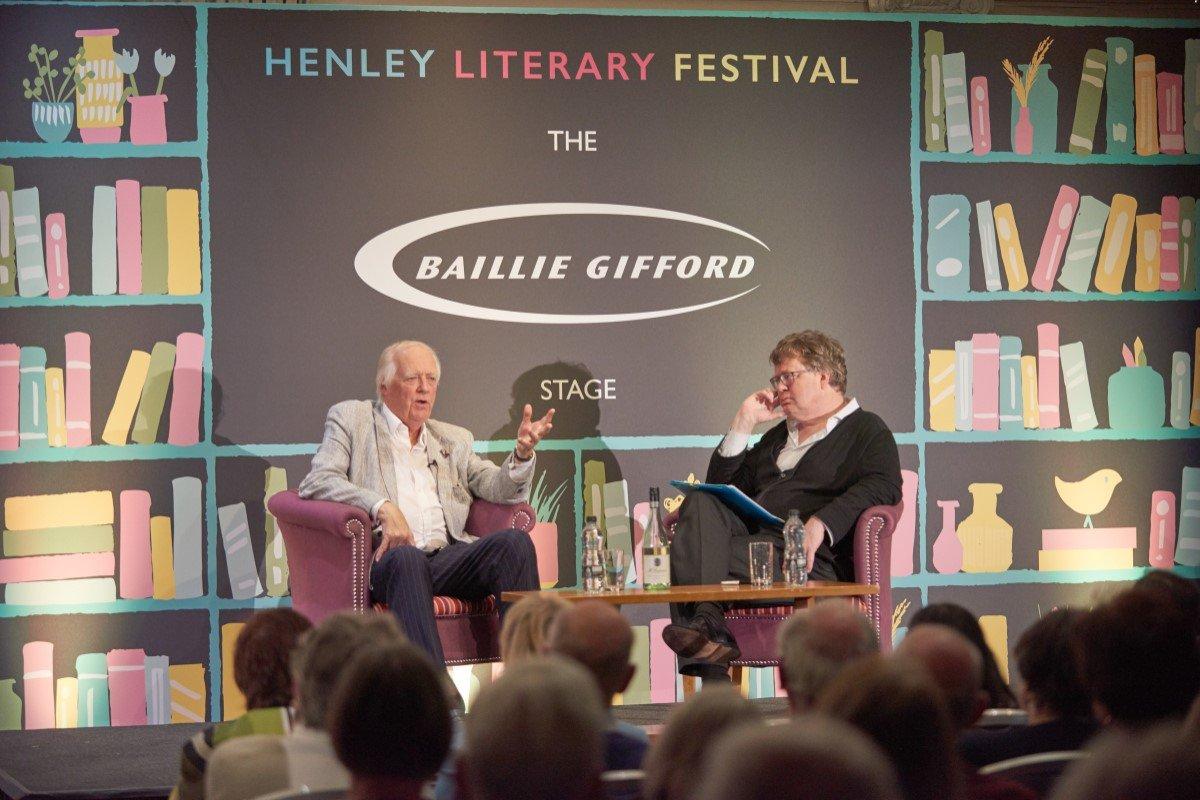 Henley Literary Festival Gallery Image 12 - Tim Rice interviewed by James Runcie