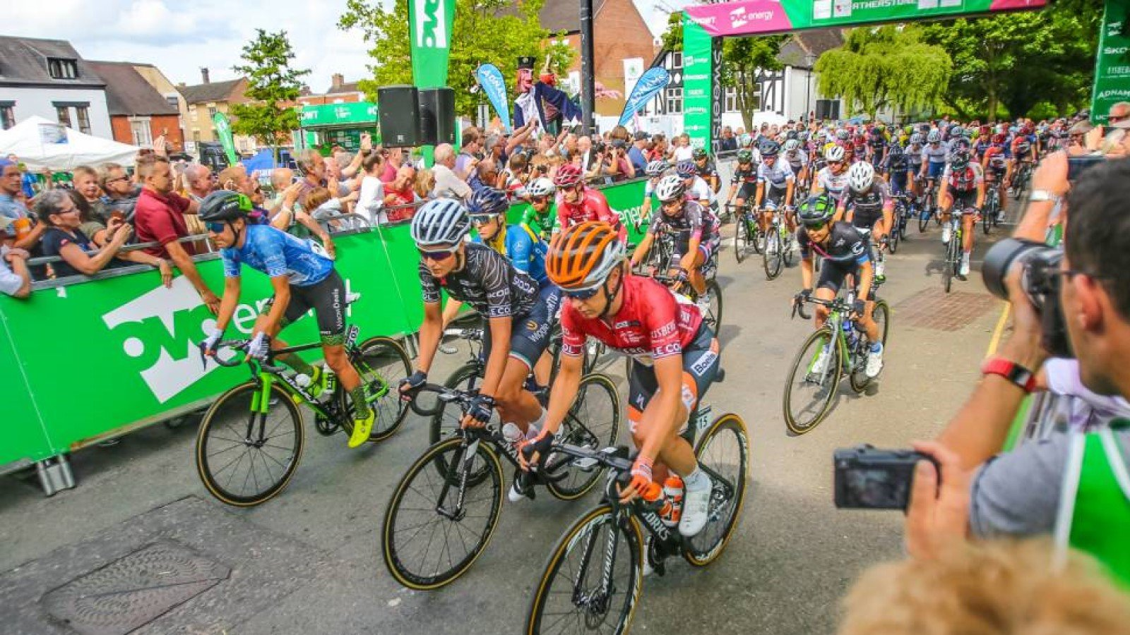 Henley-on-Thames start of OVO Energy Women's Cycling Tour