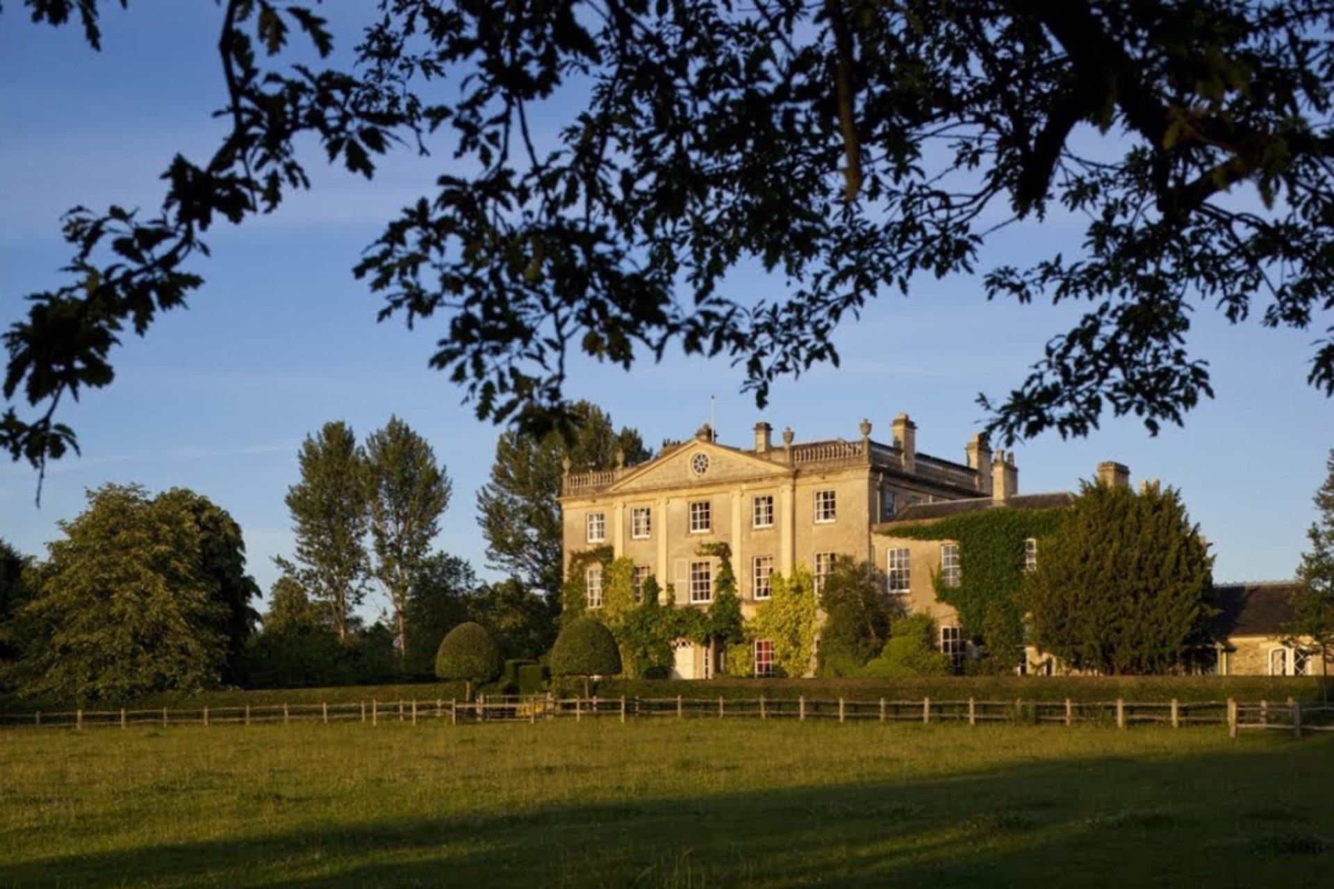 Exterior of Highgrove House in Gloucestershire