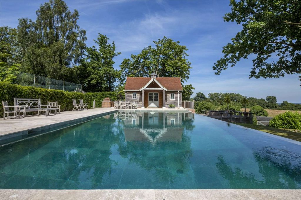 Holmwood Country House, Binefield Heath, Henley-on-Thames, Oxfordshire - Pool House