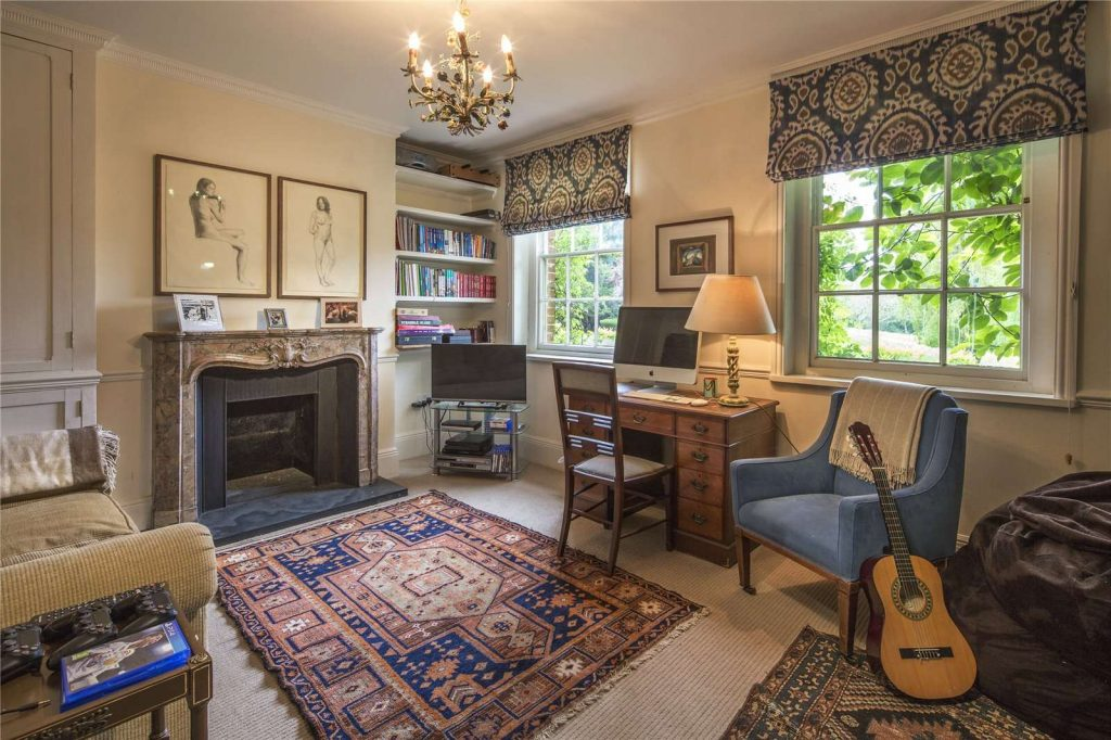 Holmwood Country House, Binefield Heath, Henley-on-Thames, Oxfordshire - Study