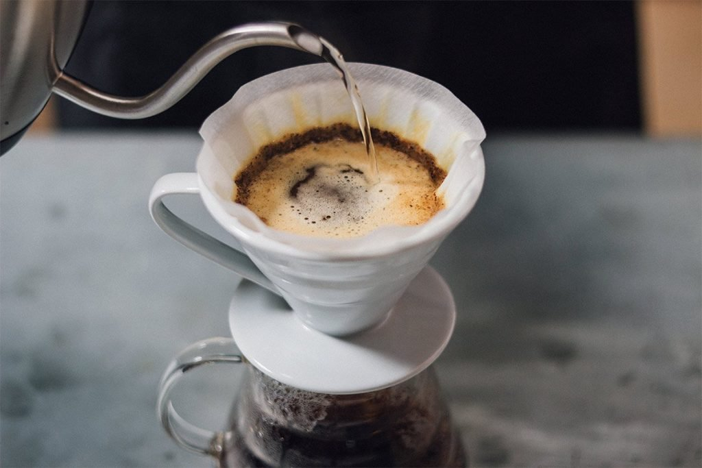 How to brew the perfect cup of pour-over coffee - Step 05