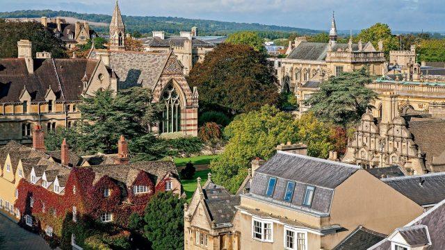 Inside Oxford college gardens
