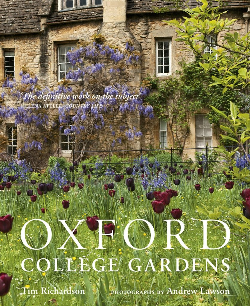 Inside Oxford College Gardens Book Front Cover