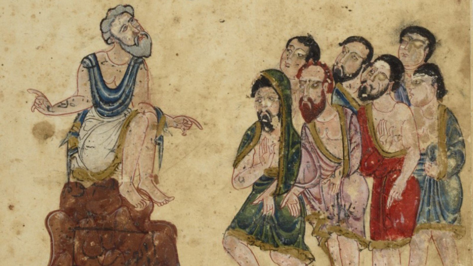 Is 'Science' Always Exact? - Free online evening lecture by History of Science Museum, University of Oxford. Image shows Aristotle teaching natural philosophy