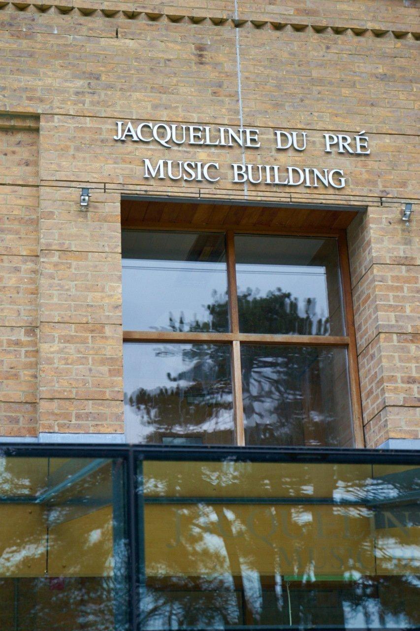 The Jacqueline du Pré JdP Music Building Interior Entrance
