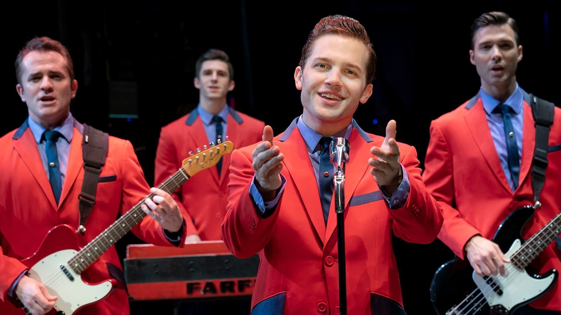 Jersey Boys Live at New Theatre Oxford