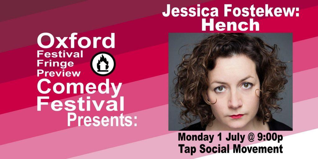 Oxford Comedy Festival 2019 presents Jessica Fostekew: Hench
