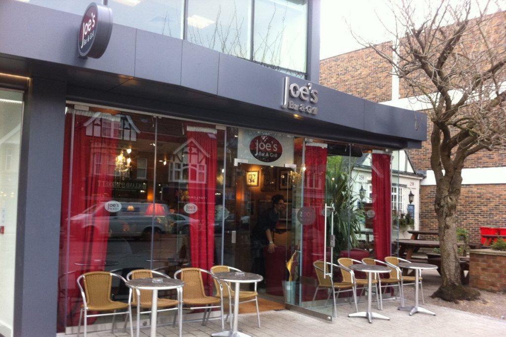 Joe's Bar & Grill, Summertown, Oxford
