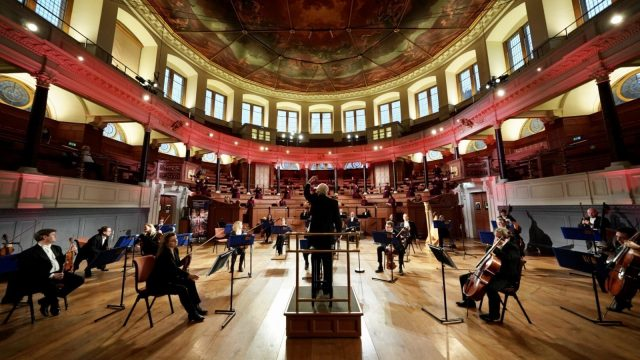 Oxford Philharmonic Orchestra's tribute concert to the Oxford vaccine team