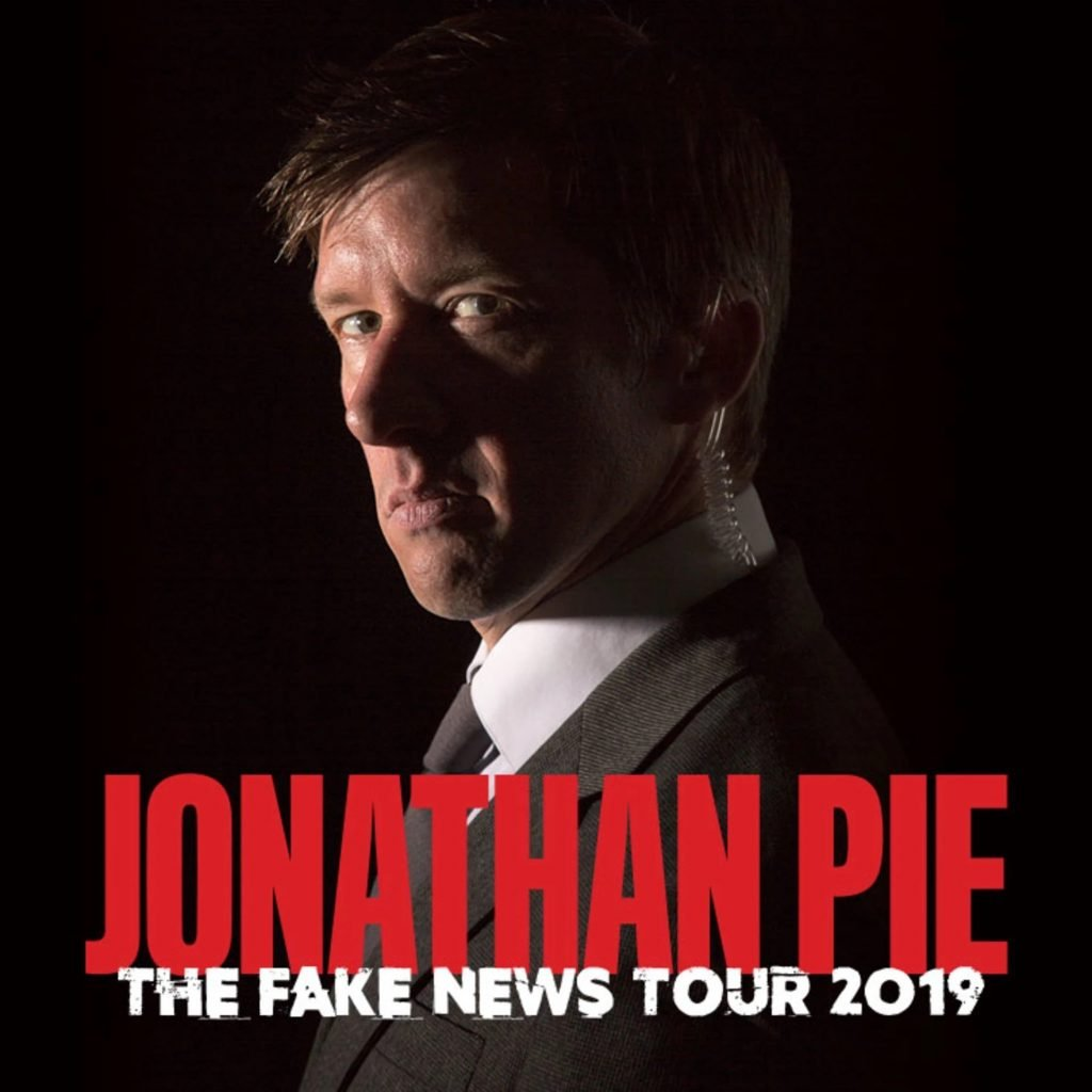 Poster for Jonathan Pie - Fake News Comedy Show at New Theatre, Oxford
