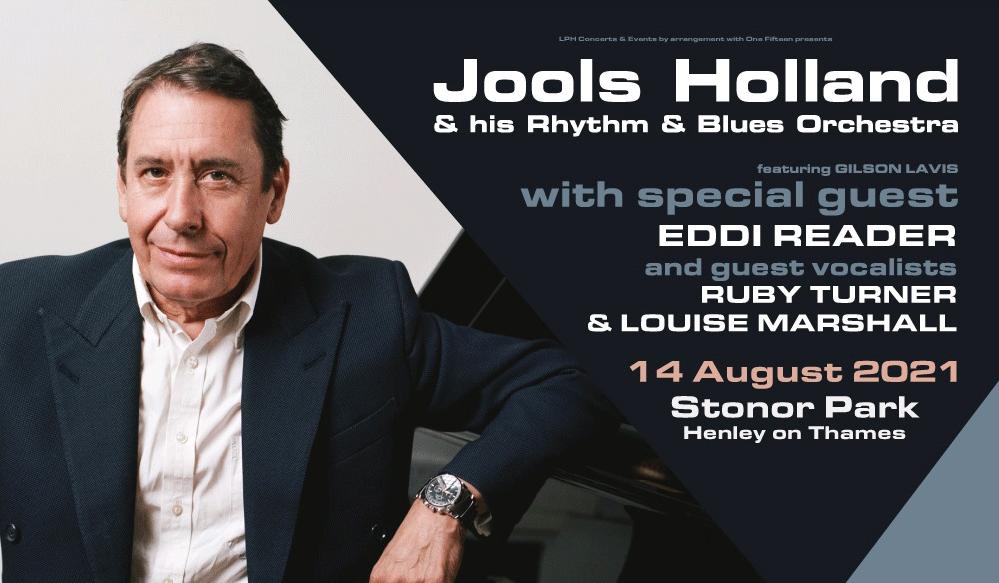 Jools Holland & his Rhythm & Blues Orchestra at Stonor Park