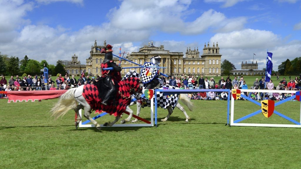 Spring 2021 Jousting Tournament at Blenheim Palace