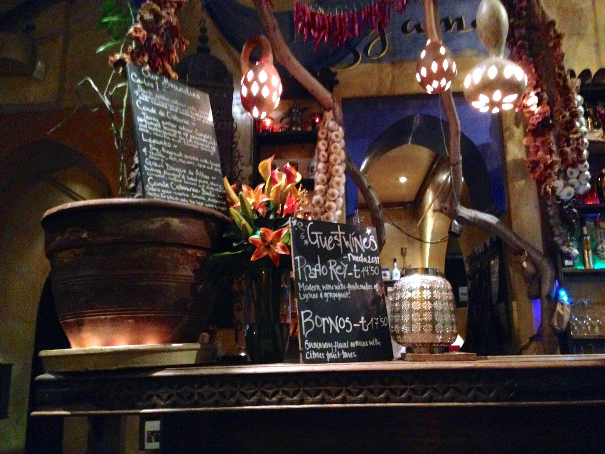Kazbar Tapas Bar and Restaurant in Cowley Road, Oxford