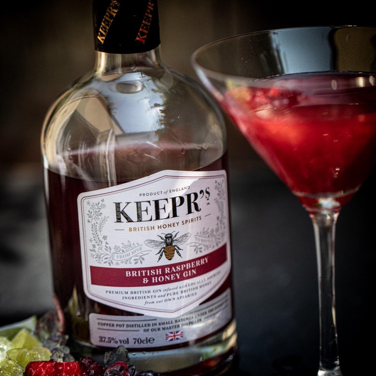 Keeprs British Raspberry & Honey Gin