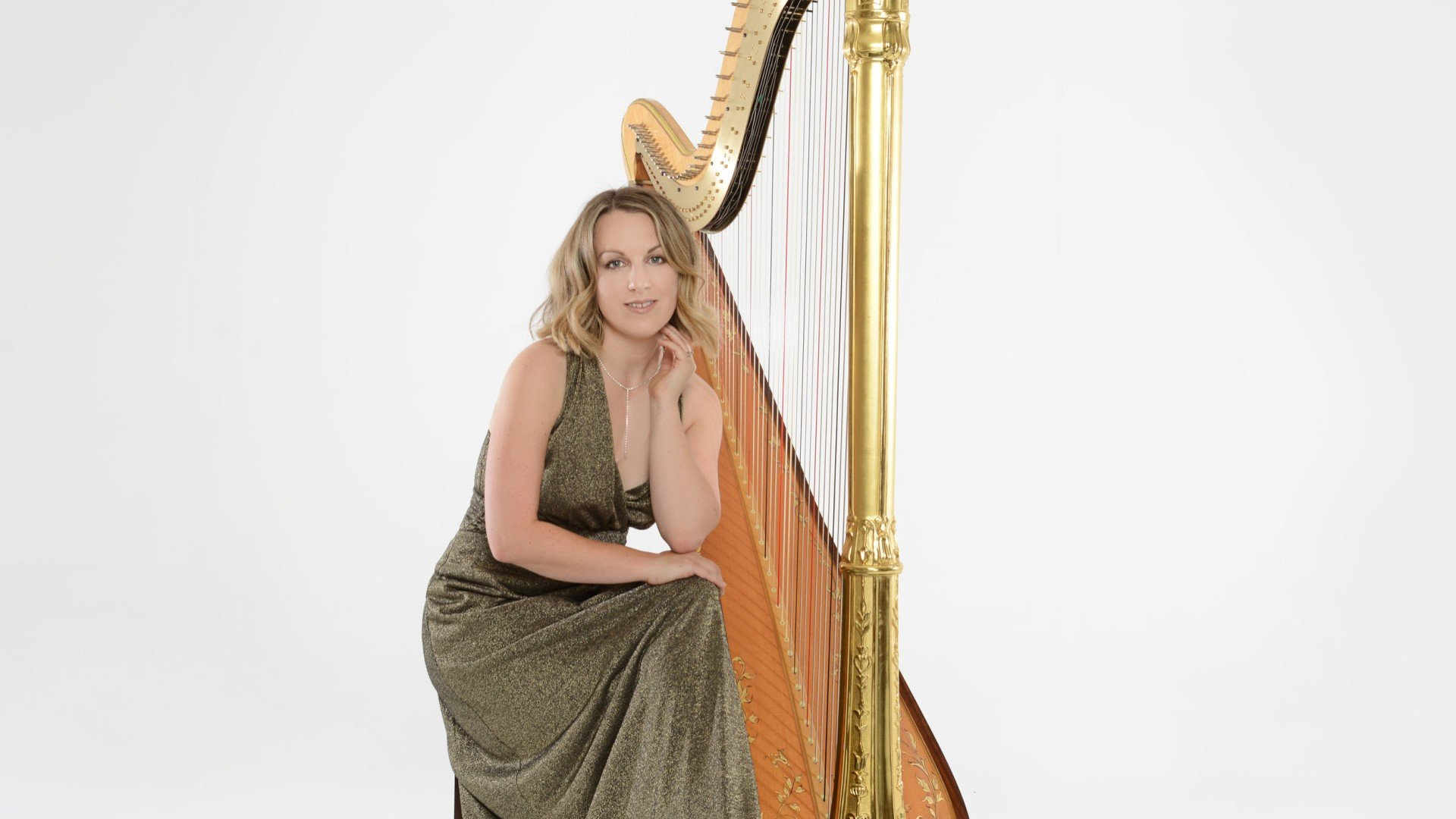 Harp and strings at Dorchester Abbey with harpist Keziah Thomas and Orchestra of St John's