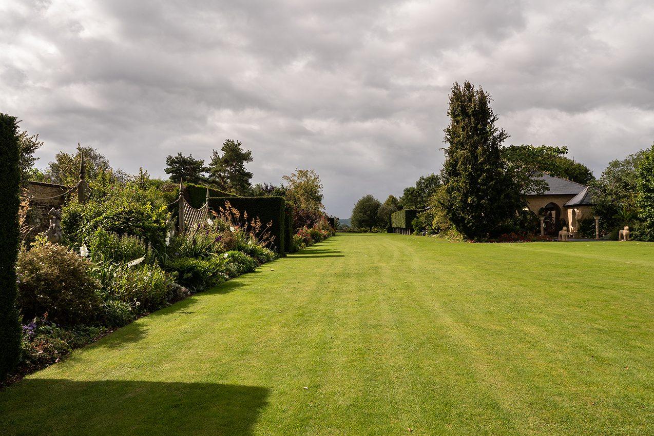 Kingham Lodge Gardens - Main Lawn