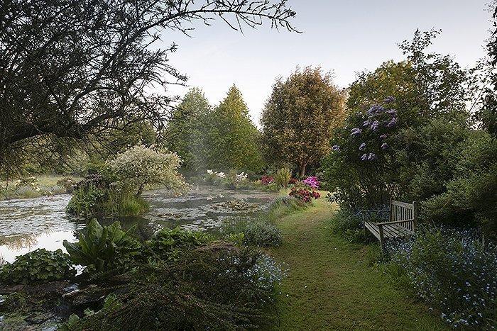 Kingham Lodge Gardens - Quarry Pond