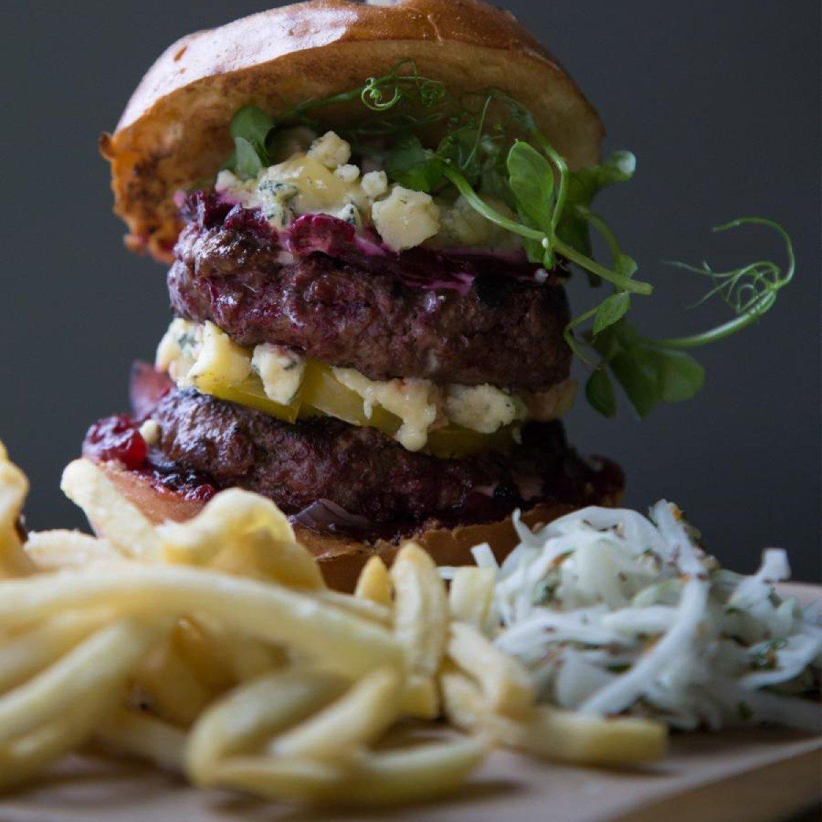 KuPP Oxford Signature Beef Burger - £12.50
