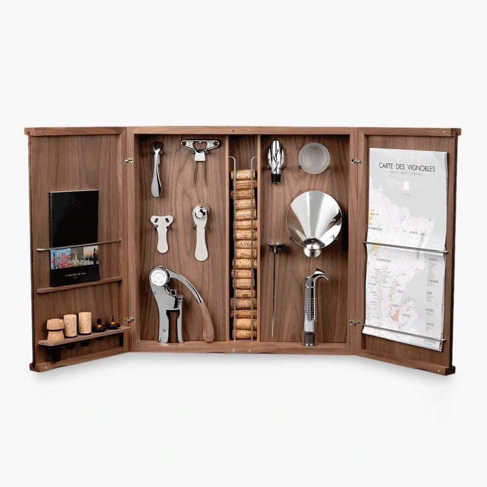 Luxury Gift for a Wine Lover - L'Atelier du Vin Cabinet d'Oeno Curiosities Wine Gift Set
