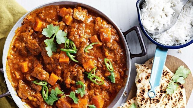 Lamb & Pumpkin Curry Recipe